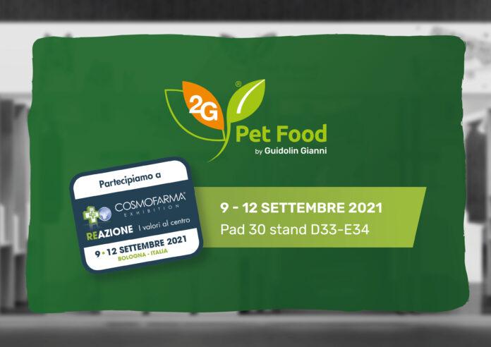 Cosmofarma 2021 - 2G Pet Food