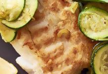 Ricetta monoproteica per cani: Filetto di merluzzo con zucchine