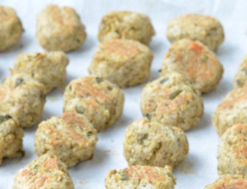 Le ricette 2G Pet Food | Polpettine di cane al vitello con verdura e erbe aromatiche